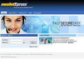 eWalletXpress website